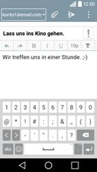 LG Leon 3G - E-Mail - E-Mail versenden - 10 / 20