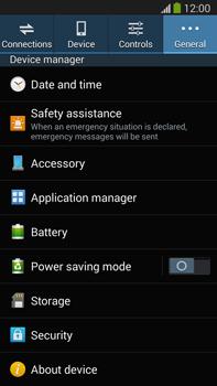 Samsung Galaxy Note III LTE - Software - Installing software updates - Step 6
