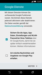 HTC One M9 - Apps - Konto anlegen und einrichten - 12 / 16