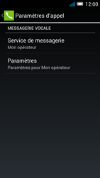 Alcatel OT-5036X Pop C5 - Messagerie vocale - configuration manuelle - Étape 9