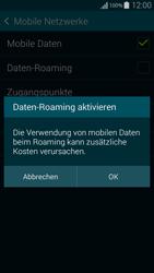 Samsung Galaxy Alpha - Ausland - Im Ausland surfen – Datenroaming - 9 / 12