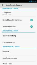 Huawei Ascend G526 - Anrufe - Rufumleitungen setzen und löschen - Schritt 5