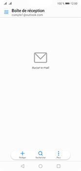 Huawei P20 Lite - E-mail - 032c. Email wizard - Outlook - Étape 10