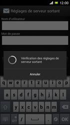 Sony Xperia J - E-mail - Configuration manuelle - Étape 14