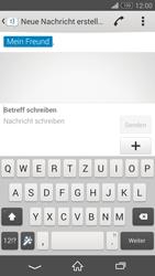 Sony Xperia Z3 - MMS - Erstellen und senden - 14 / 23