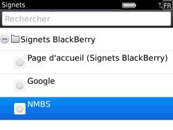 BlackBerry 9780 Bold - Internet - Navigation sur Internet - Étape 10