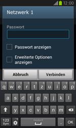 Samsung I9105P Galaxy S2 Plus - WLAN - Manuelle Konfiguration - Schritt 7