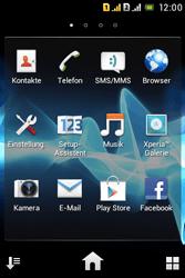 Sony Xperia Tipo Dual - WLAN - Manuelle Konfiguration - Schritt 3