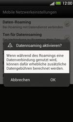 HTC One V - Ausland - Im Ausland surfen – Datenroaming - 1 / 1