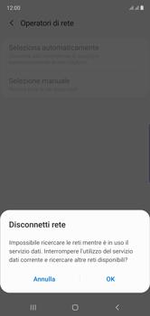 Samsung Galaxy Note 10 - Rete - Selezione manuale della rete - Fase 9