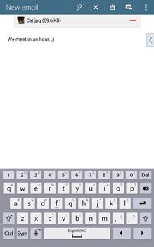 Samsung T335 Galaxy Tab 4 8-0 - E-mail - Sending emails - Step 19