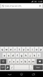 Sony Xperia E4g (E2003) - Internet - Hoe te internetten - Stap 7