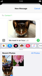 Apple iPhone 7 - iOS 13 - MMS - Sending a picture message - Step 14