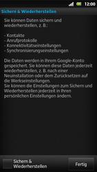 Sony Xperia Sola - Apps - Konto anlegen und einrichten - 15 / 19