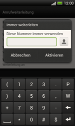 HTC C525u One SV - Anrufe - Rufumleitungen setzen und löschen - Schritt 7