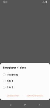 Samsung Galaxy A50 - Contact, Appels, SMS/MMS - Ajouter un contact - Étape 5