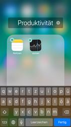 Apple iPhone 6 - iOS 11 - Startanleitung - Personalisieren der Startseite - Schritt 6