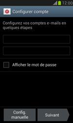 Samsung Galaxy S III Mini - E-mail - configuration manuelle - Étape 5