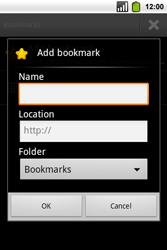 Alcatel OT-991 Smart - Internet - Internet browsing - Step 8