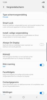 Samsung Galaxy Note10 Plus - Beveiliging - stel in of wijzig pincode voor je toestel - Stap 13