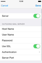Apple iPhone 4 S iOS 7 - E-mail - Manual configuration - Step 20