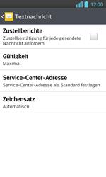 LG Optimus L7 II - SMS - Manuelle Konfiguration - 0 / 0