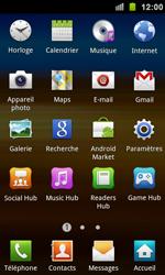 Samsung I9100 Galaxy S II - Internet - Navigation sur Internet - Étape 2