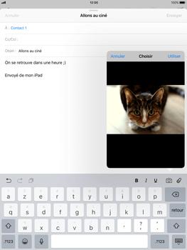 Apple iPad Air iOS 11 - E-mail - envoyer un e-mail - Étape 10