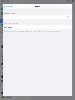 Apple iPad 9.7 (2018) - iPadOS 13 - E-mail - manual configuration - Step 20