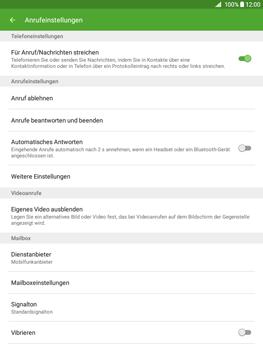 Samsung T555 Galaxy Tab A 9.7 - Anrufe - Anrufe blockieren - Schritt 6