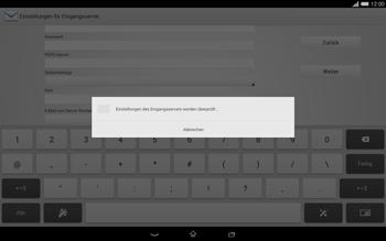 Sony Xperia Tablet Z2 LTE - E-Mail - Konto einrichten - 1 / 1