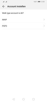 Huawei P30 - E-mail - Handmatig instellen - Stap 9