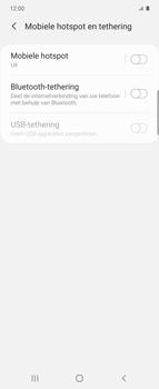 Samsung Galaxy Z Flip Single-SIM + eSIM (SM-F700F) - WiFi - Mobiele hotspot instellen - Stap 6