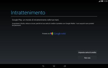 Sony Xperia Tablet Z2 LTE - Applicazioni - Configurazione del negozio applicazioni - Fase 22