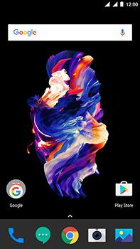 OnePlus 5 - Internet - Handmatig instellen - Stap 1