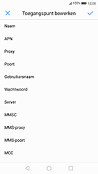 Huawei P10 - internet - handmatig instellen - stap 10