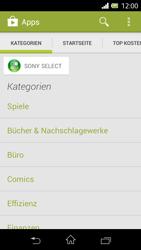 Sony Xperia L - Apps - Herunterladen - Schritt 5