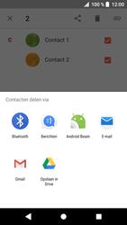 Sony F8331 Xperia XZ - Android Oreo - Contactgegevens overzetten - delen via Bluetooth - Stap 7