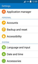 Samsung J100H Galaxy J1 - Device - Factory reset - Step 5