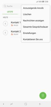 Samsung Galaxy Note9 - Anrufe - Anrufe blockieren - Schritt 6