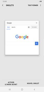 Samsung Galaxy S9 Plus - Android Pie - Internet - navigation sur Internet - Étape 19