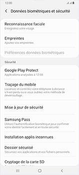 Samsung Galaxy A70 - Appareil - configurer Localiser mon appareil - Étape 5