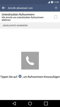 LG G4 - Anrufe - Anrufe blockieren - 0 / 0