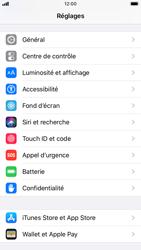 Apple iPhone 7 - iOS 13 - Sécurité - activéz le code PIN de l'appareil - Étape 3