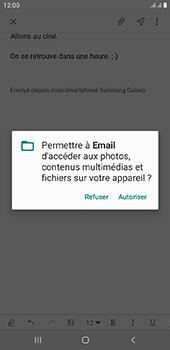 Samsung Galaxy J4 Plus - E-mail - envoyer un e-mail - Étape 13