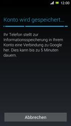 Sony Xperia J - Apps - Einrichten des App Stores - Schritt 21