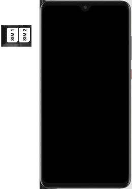 Huawei Mate 20 - SIM-Karte - Einlegen - Schritt 5