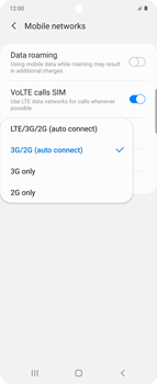 Samsung Galaxy Z flip - Network - How to enable 4G network connection - Step 7
