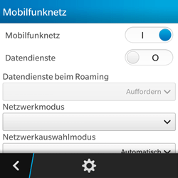 BlackBerry Q5 - Internet - Apn-Einstellungen - 6 / 22