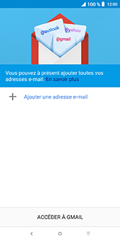 Alcatel 3L - E-mails - Ajouter ou modifier votre compte Outlook - Étape 5